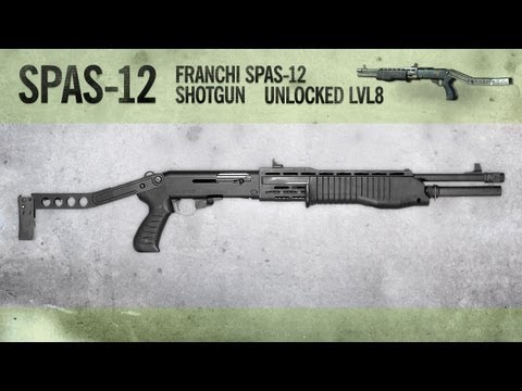 SPAS-12 : MW3 Weapon Guide, Gameplay & Gun Review