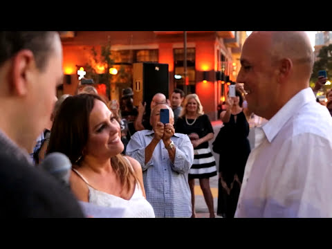 Rick & Stacey's Anniversary/Vow Renewal Flash Mob