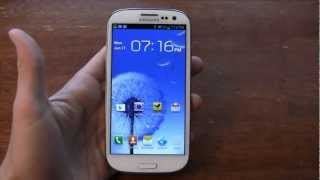 Samsung Galaxy S III Review Part 2