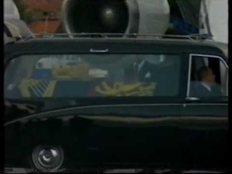 Death of Princess Diana BBC News 31/8/97 Part 1 - Diana's Body is flown to England.