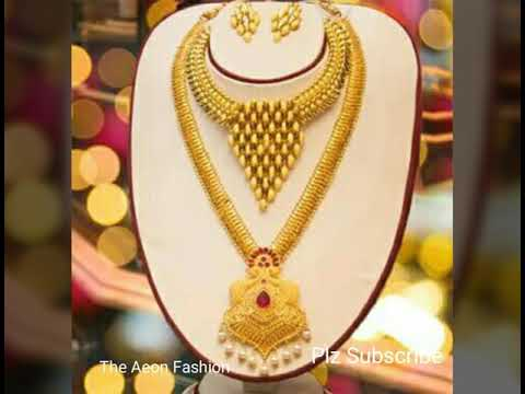 Latest Gold Bridal Necklace Design
