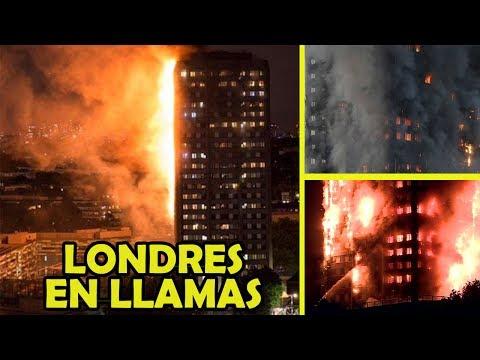 Se Incendia Edificio de 24 Pisos en Londres ¿Ataque Terrorista?