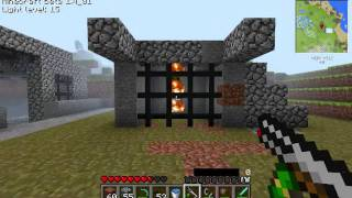 how to capture and kill a creeper in minecraft
