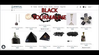 Black Tourmaline {tumbled stones and untumbled stones} | What is BLACK TOURMALINE?