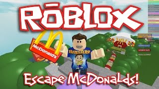 Roblox: ESCAPE McDONALD
