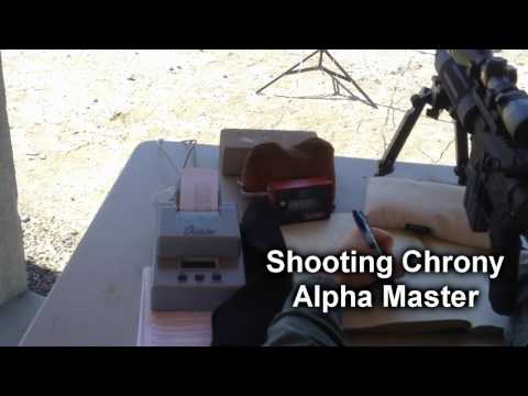 Shooting Chrony Alpha Master Review