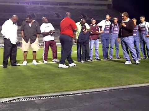 Aggie Yell Practice- Oct 30,2010