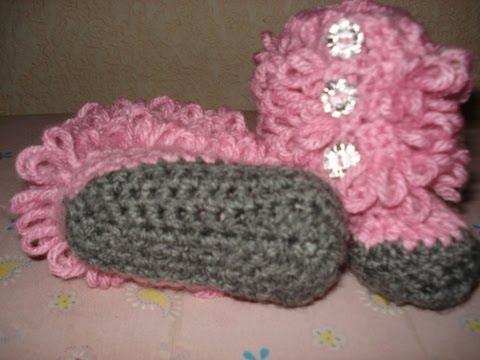Tejidos a crochet paso a paso para bebé - Imagui