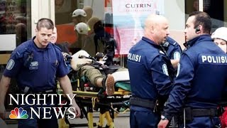 Finland Stabbing Leaves Two Dead, Six Wounded | NBC Nightly News