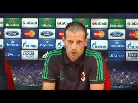 Allegri: 'Milan-Psv decide il mercato'