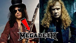 How Slash Nearly JOINED Megadeth With Dave Mustaine!