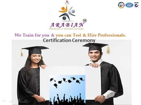 Arabian Training & Testing Centre Presentation