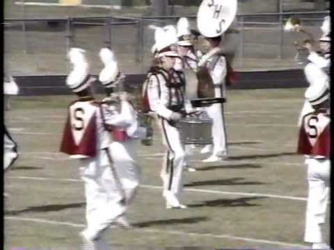 Silsbee High School Band 1989 - UIL Region 10 Marching Contest