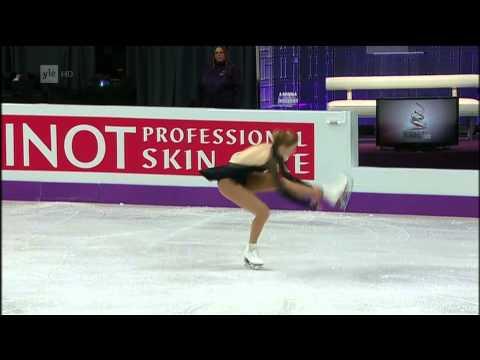 Carolina Kostner  - 2013 World Figure Skating Championships - Free Skating - Real HD video