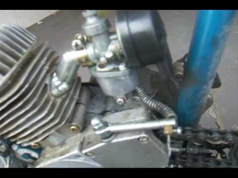 how to install your 66cc bike engine kit