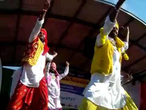 United Punjab Performance at the Incredible India Festival