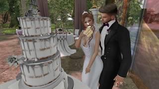Tori and Aja Second Life Wedding - 9.1.17