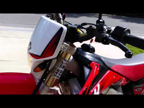 2005 Honda Crf450x CA street legal dual sport