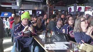 Jackets' road to the Cup will continue Monday in Columbus