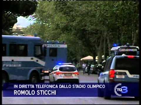 COPPA ITALIA - NAPOLI - FIORENTINA 3-1 - GRAVI INCIDENTI FRA TIFOSERIE E FORZE DELL'ORDINE