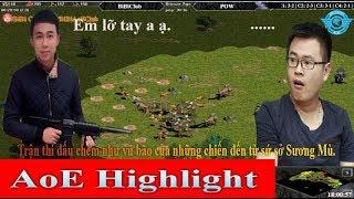 AoE Highlight || Trận thi đấu chém như bất cần của những chiến binh đến từ sứ sở Sương Mù