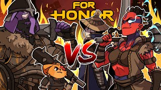 SOMEONE SHOULD PROBABLY CALL PETA! | For Honor (w/ H2O Delirious, Rilla, & Squirrel)