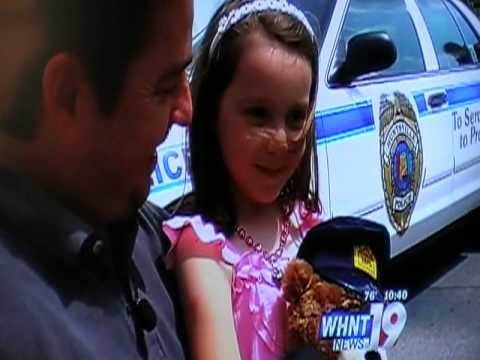 Emma Flynn donates piggy bank money to fallen officers memorial fund - 2