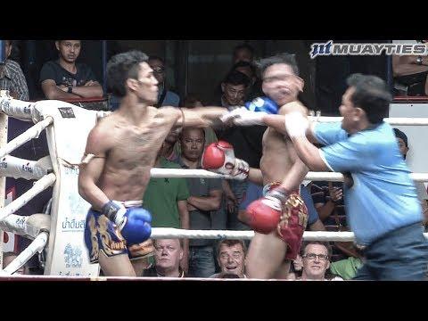Muay Thai - Petdam vs Suakim (เพชรดำ vs เสือคิม), Rajadamnern Stadium, Bangkok, 1.11.17.