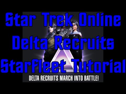 Star Trek Online - Delta Recruits Introduction - Character Creation and Tutorial