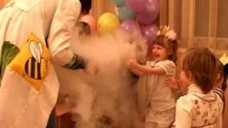 Химическое шоу на детском празднике