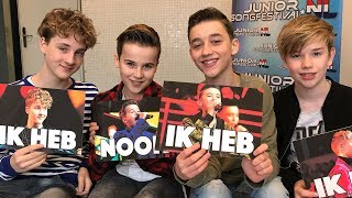 #72 NEVER HAVE I EVER CHALLENGE met FOURCE | JUNIORSONGFESTIVAL.NL🇳🇱