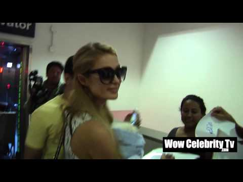 Paris Hilton Spotted at LAX Airport with new dog