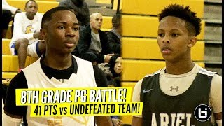 Shifty 8th Grader PUTS ON A SHOW! 40 Points vs Chicago's TOP TEAM! Jamie Hodges Can Go!