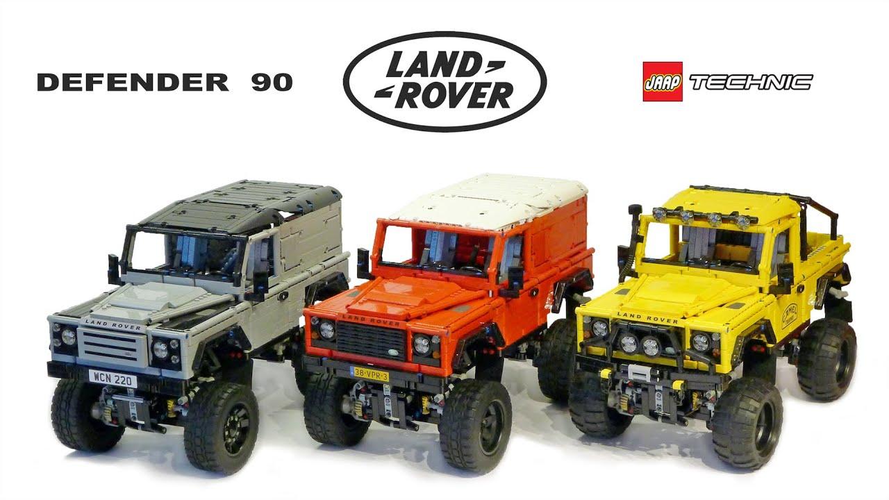 Lego Rc Adventures Landrover Defender 90 Series Youtube