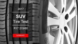2017 SUV Summer Tyre Test – Summary | 215/60 R17 - 2