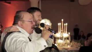 """To Life"": Wedding Flash Mob Surprise (Father of the Bride Toast Gone Wild)"