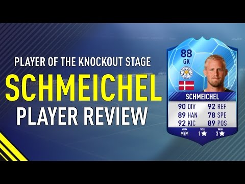 FIFA 17 TOTT SCHMEICHEL (88) PLAYER REVIEW