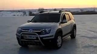 Тест- Драйв Renault Duster на льду
