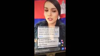 What happen to Miss Universe Cambodia 2018 / Why she crying?