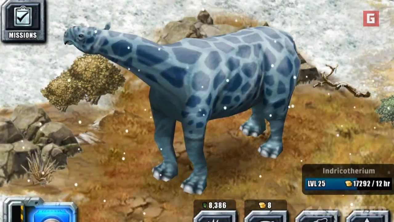 Jurassic Park Builder: Indricotherium Gameplay Trailer [HD ...
