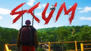 SCUM - Becoming A Cannibal - A Super-realistic Survival Game - Scum Gameplay Part 1