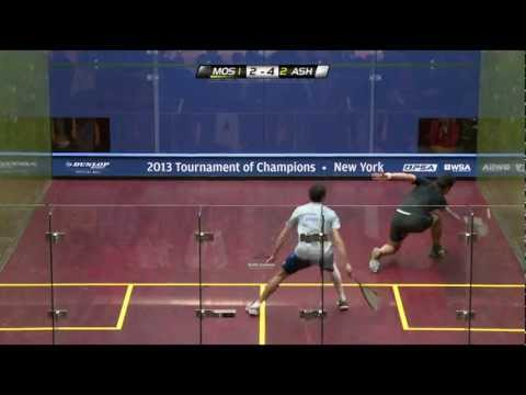 Squash : J.P. Morgan Tournament of Champions 2013 Quarter Final Roundup Part1
