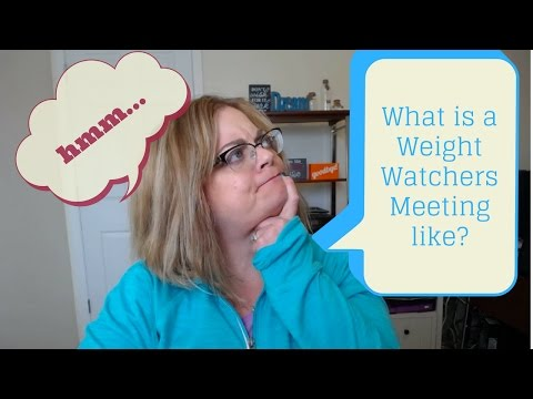 What happens at your first Weight Watchers Meeting