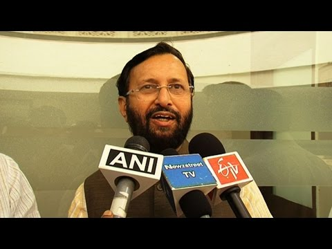 Environment Ministry applauds MP's  endeavor to conserve forests  Javadekar