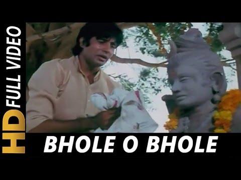 Bhole O Bhole Tu Rutha Dil Tuta | Kishore Kumar | Yaarana 1981 Songs | Amitabh Bachchan, Neetu Singh