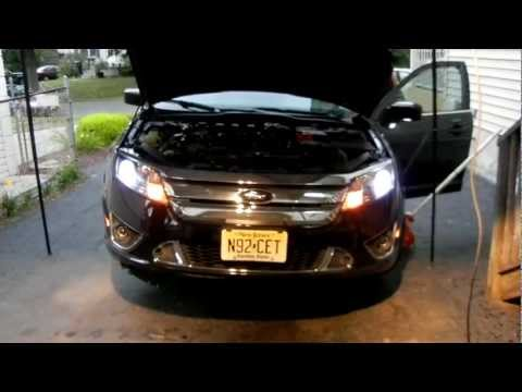 How To: Install HIDs on a 2010 Ford Fusion Sport - 8000k