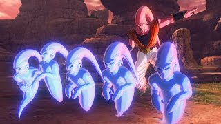 DRAGON BALL XENOVERSE 2 - Dabura and Majin Buu (Gohan Absorbed) Gameplay | PC, PS4, Switch, X1