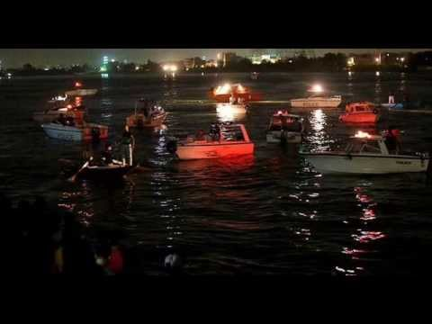 Two ships collided in the Nile: 15 dead.!