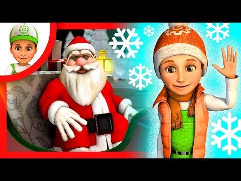 Мультик про Новый Год! Винтик поздравляет всех с наступающим Новым Годом. Мультики для детей