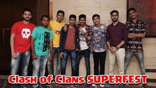 #SUPER FEST Mumbai Meet Up Vlog Clash of Clans - 2019